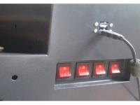 Gniazda wejścia USB - laser Sybil PRO